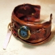 For goodness sake_crushed_copper_cuff_recycled_chains_beads Jomama