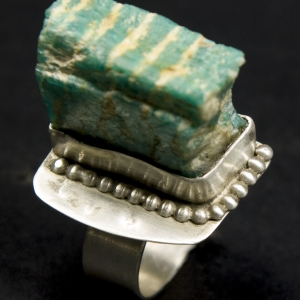 sterling silver handcrafted ring
