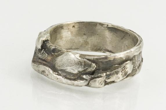 organic sculpture ring