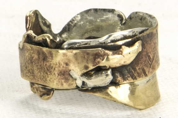 unisex sculptural ring