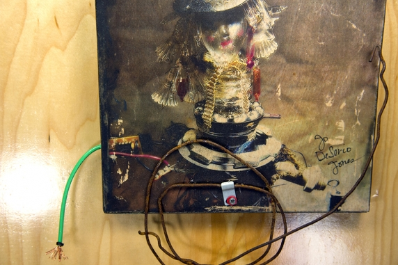 upcycled found object art