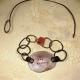 """Be the change"" pewter bracelet necklace conversion"